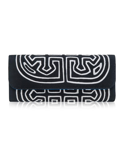 Chichiq Embroidered Clutch Bag