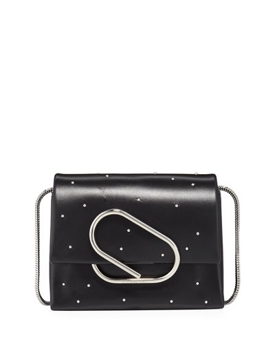 Alix Studded Micro Crossbody Bag