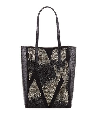 Beaded Ayers Mini Modern Tote