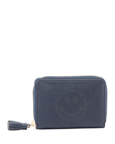 Small Zip Smiley Wallet