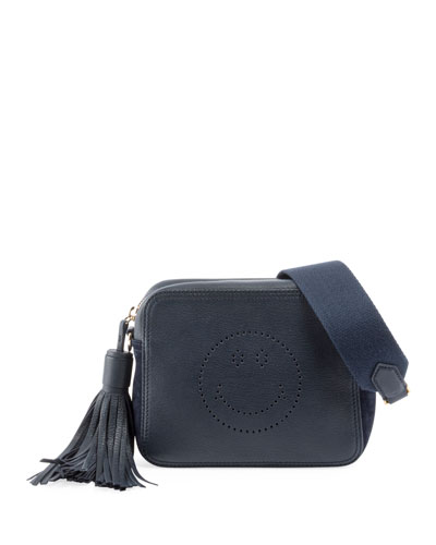 Crossbody Smiley Tassel Bag