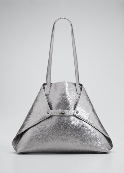 AI Medium Hammered Shoulder Bag