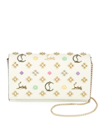Paloma Emploubinthesky Leather Clutch Bag