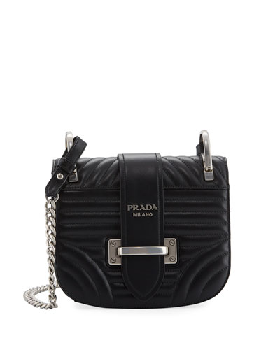 Impunture Cahier Quilted Small Shoulder Bag