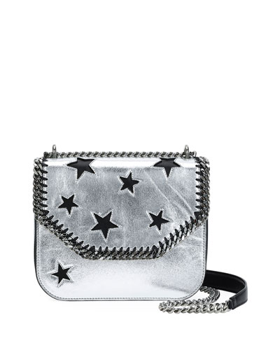 Falabella Metallic Stars Shoulder Bag