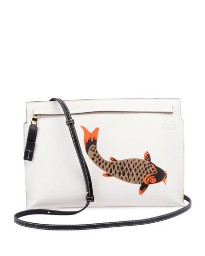 T Pouch Pesce Shoulder Bag