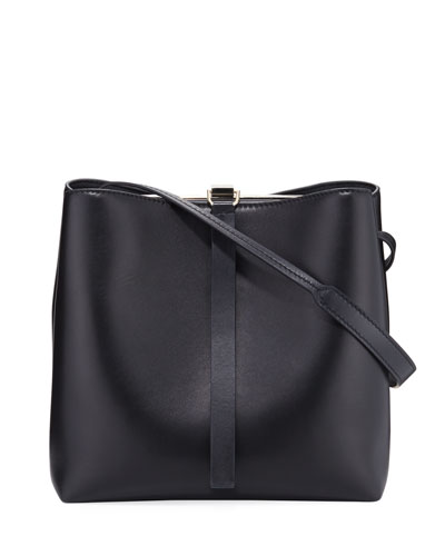 Frame Napa Leather Shoulder Bag