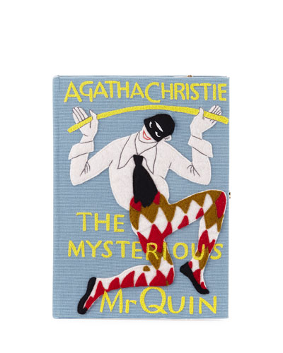 The Mysterious Mr. Quin Book Clutch Bag