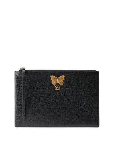 Linea Farfalla Zip-Top Pouch  Bag