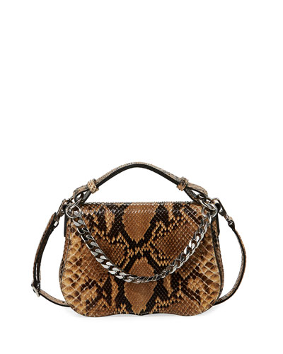 Small Python Shoulder Bag