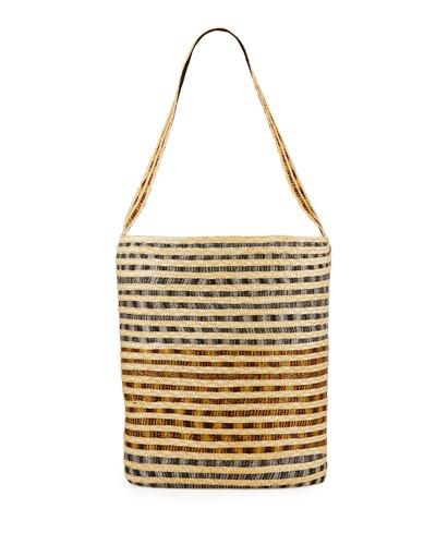 Straw Beach Bag