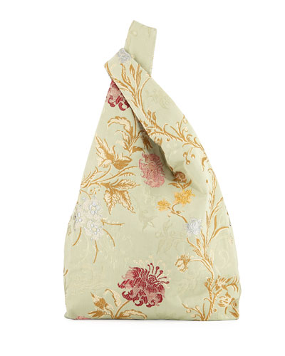 Venetian Jacquard Shopper Tote Bag