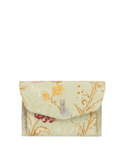 Bobby Jacquard Clutch Bag