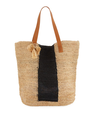 Carried Away Sandy Linen Beach Tote Bag