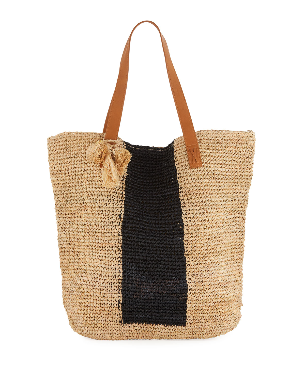 Carried Away Sandy Linen Beach Tote Bag