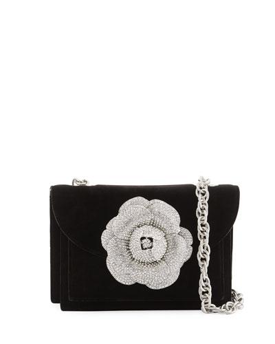 Velvet Gardenia Shoulder Bag