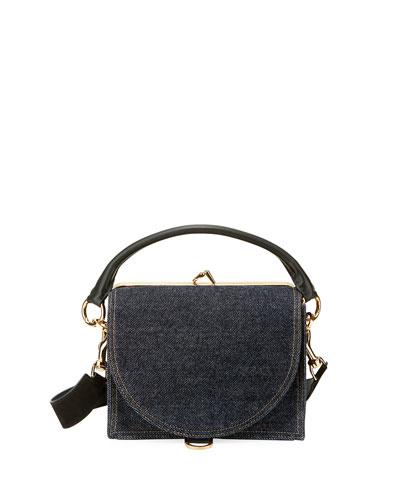 Denim Satchel Bag