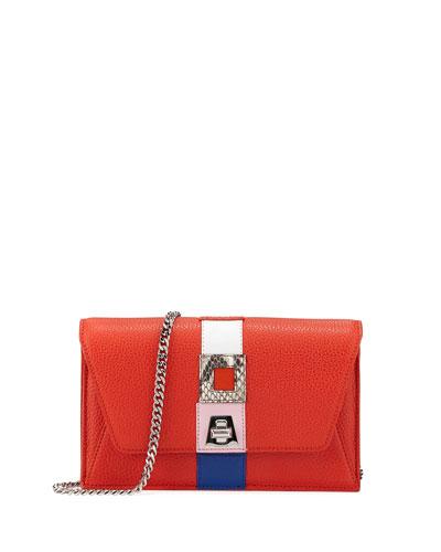 Anouk Superstripe Patchwork Envelope Shoulder Bag