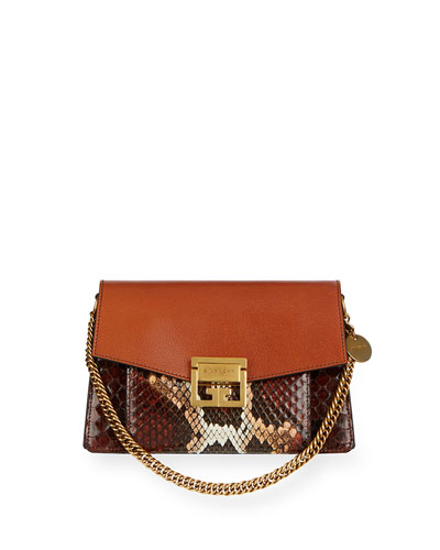 GV3 Small Python Crossbody Bag