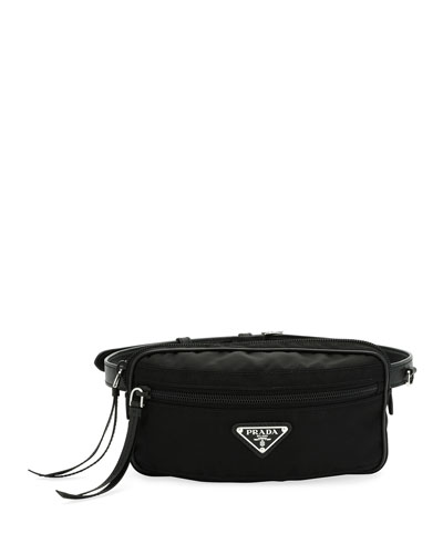 329447a4f190 Prada Leather Trim Bag | bergdorfgoodman.com