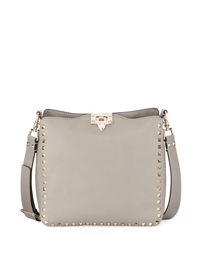 Valentino Rockstud Ricamo Arrows Heart Small Hobo Bag gOvpzK