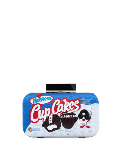 Shirley Cupcakes Large Clutch Bag
