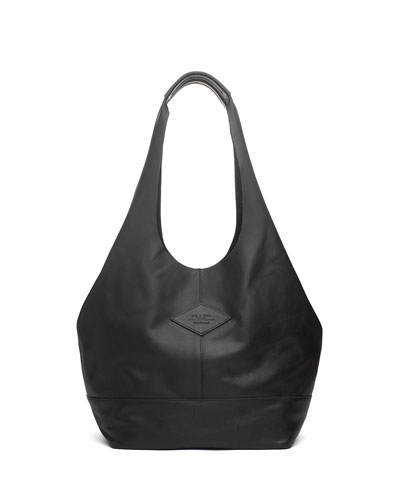 Rag And Bone Black Camden Shopper Tote