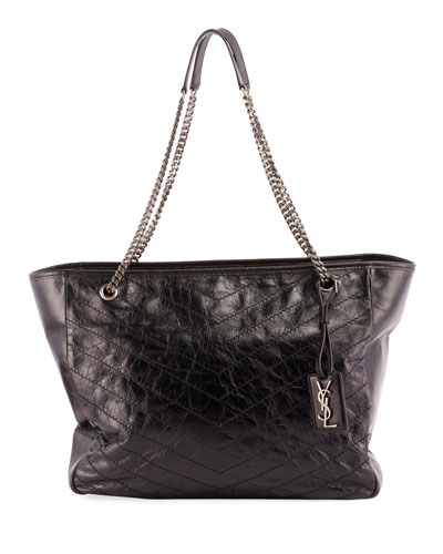 6624f2aaf68ee Niki Large Quilted Double-Chain Tote Bag Quick Look. Saint Laurent