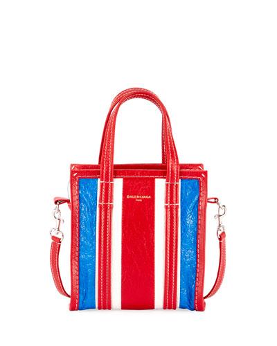 XXS Bazar Striped Shopper Tote Bag