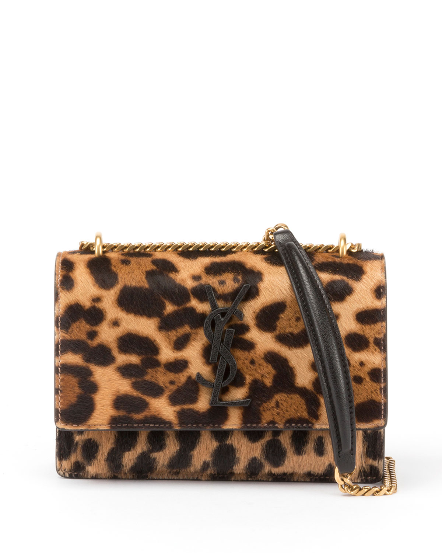 Monogramme Sunset Calf Hair Chain Wallet Bag