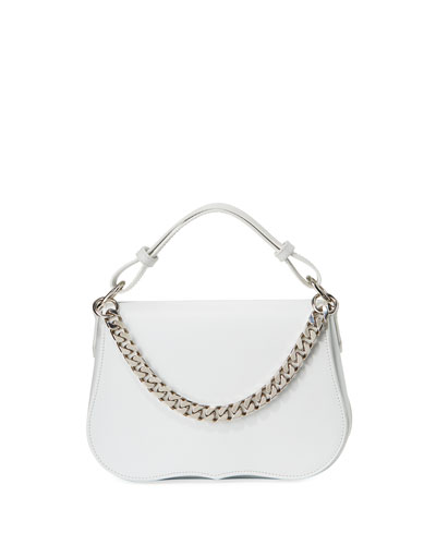 Small Chain-Fringe Shoulder Bag
