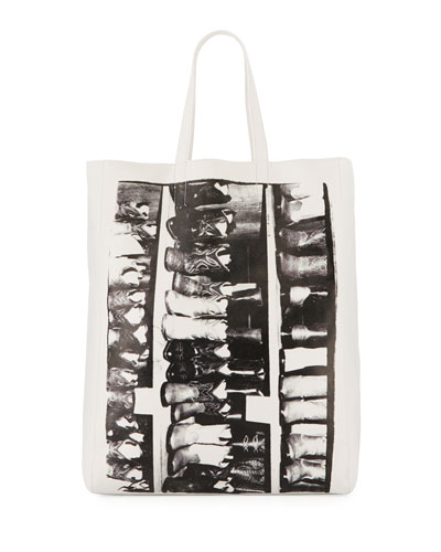 Andy Warhol Boots Tote Bag