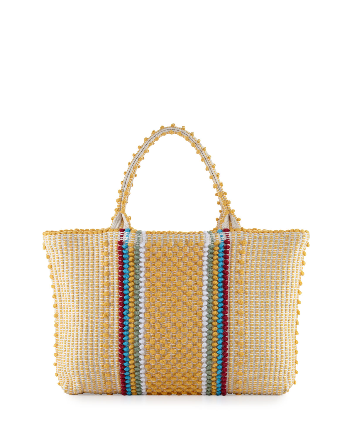 Antonello TELTI CROCHETED TOTE BAG