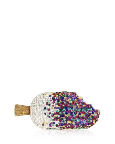 Popsicle Sprinkles Hard Clutch Bag