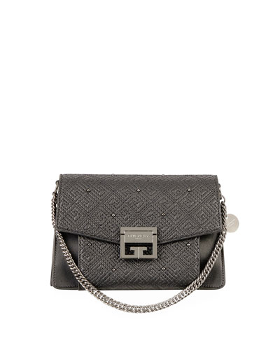 GV3 Small Lamb Leather Satchel Bag