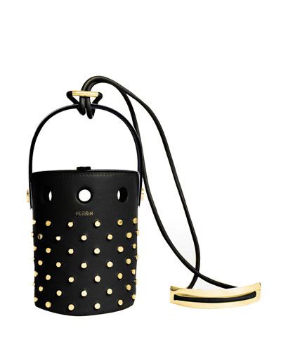 Le Mini Seau Studded Bucket Bag