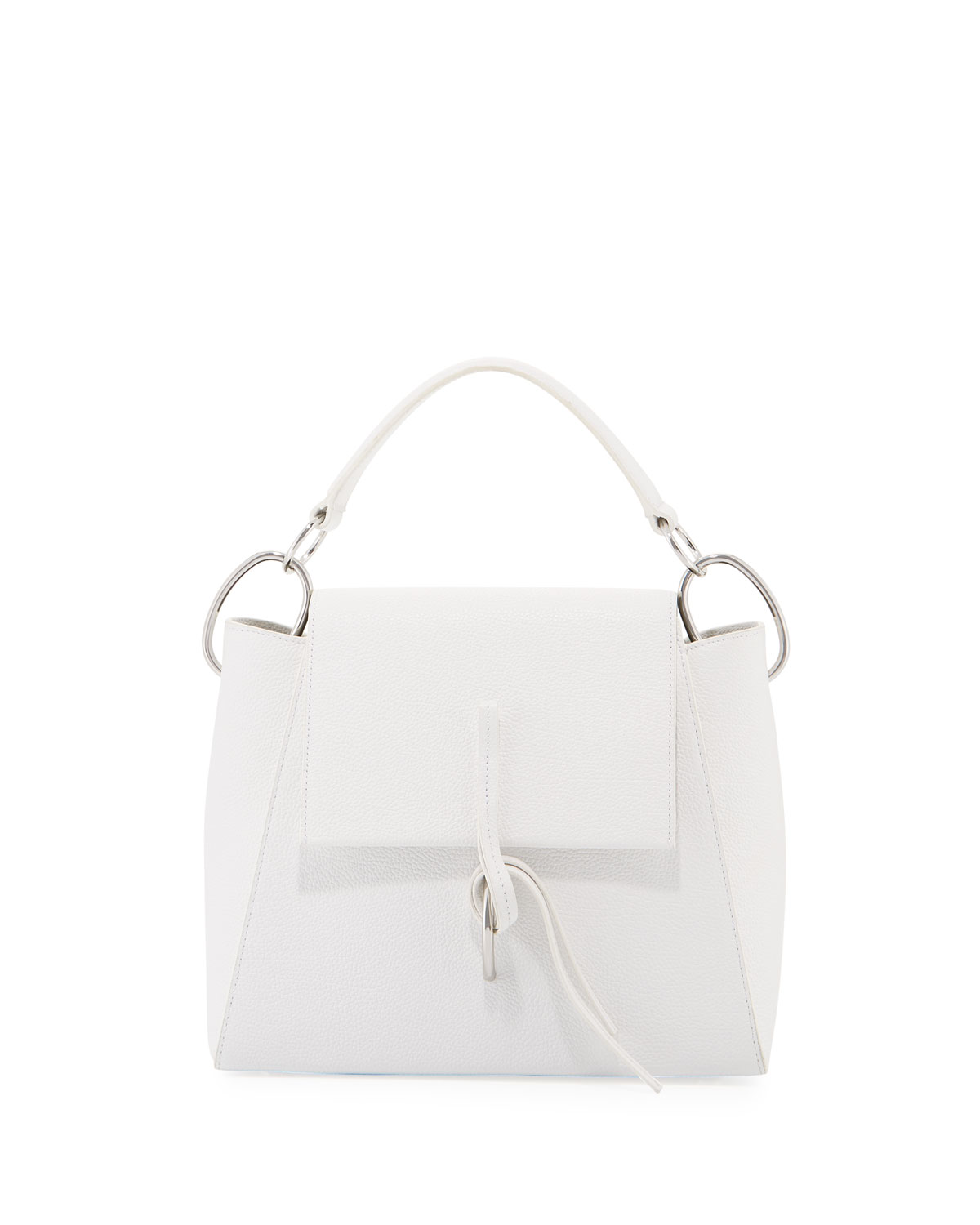 Leigh Leather Satchel Bag