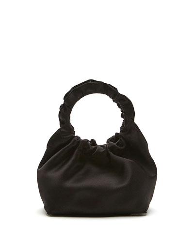 Double Circle Small Top Handle Bag