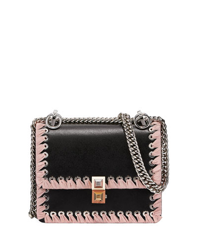 e1beb3f8a2 Kan I Ribbon Whipstitch Small Shoulder Bag Quick Look. Fendi