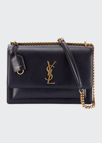 Sunset Large Monogram YSL Crossbody Bag