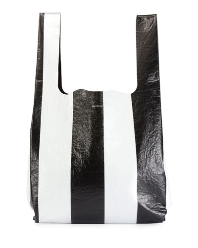 Supermarket Striped Shopper Hobo Bag d4dc41c009e68