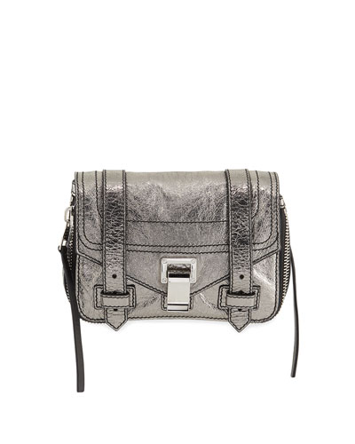 PS1+ Mini Metallic Crossbody Bag