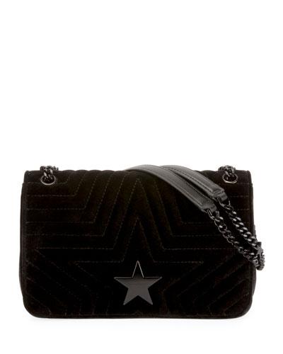 d18b5f94bb Stella Star Small Velvet Shoulder Bag