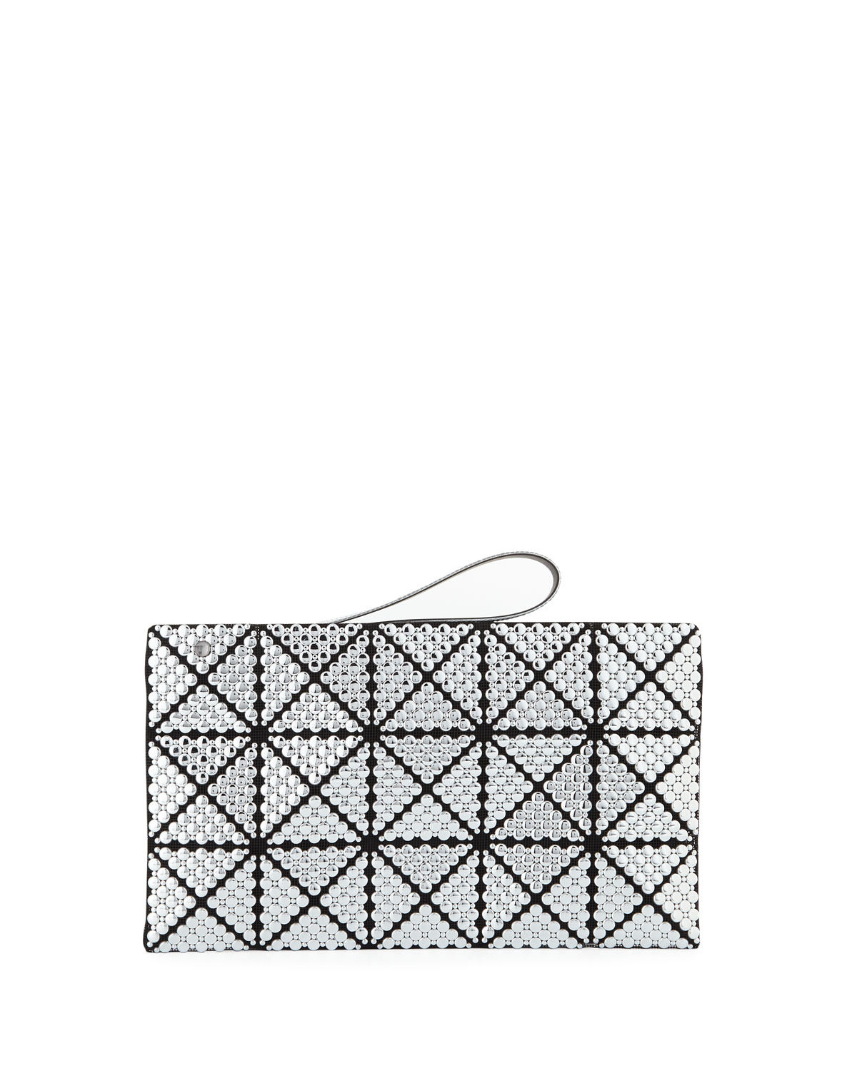 Bubble Studded Clutch Bag