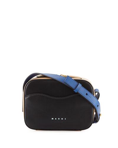 Bandoleer Colorblock Shoulder Bag