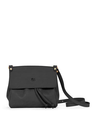 Large Leather Flap Crossbody Bag 1c7eb0bfe770c