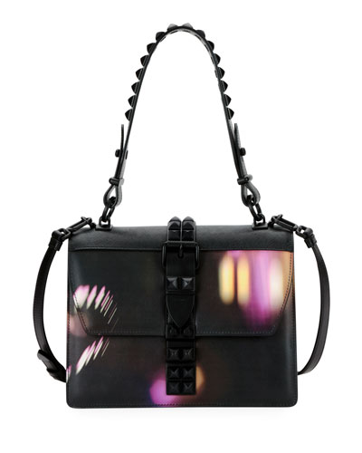 d1596bf969e9 Prada Elektra City Lights Top Handle Bag