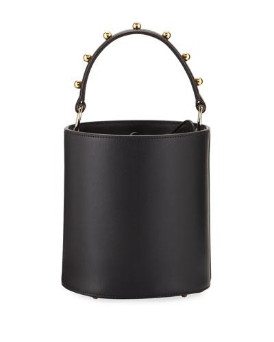 Olivia Mini Two-Tone Bucket Bag