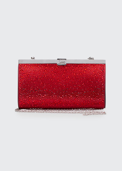 Palmette Small Clutch Bag