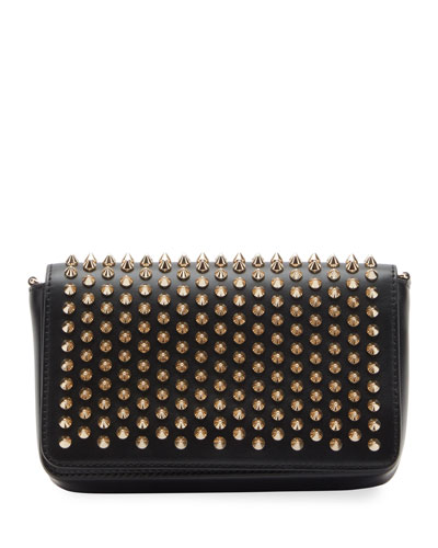Zoompouch Calf Paris Spikes Clutch Bag